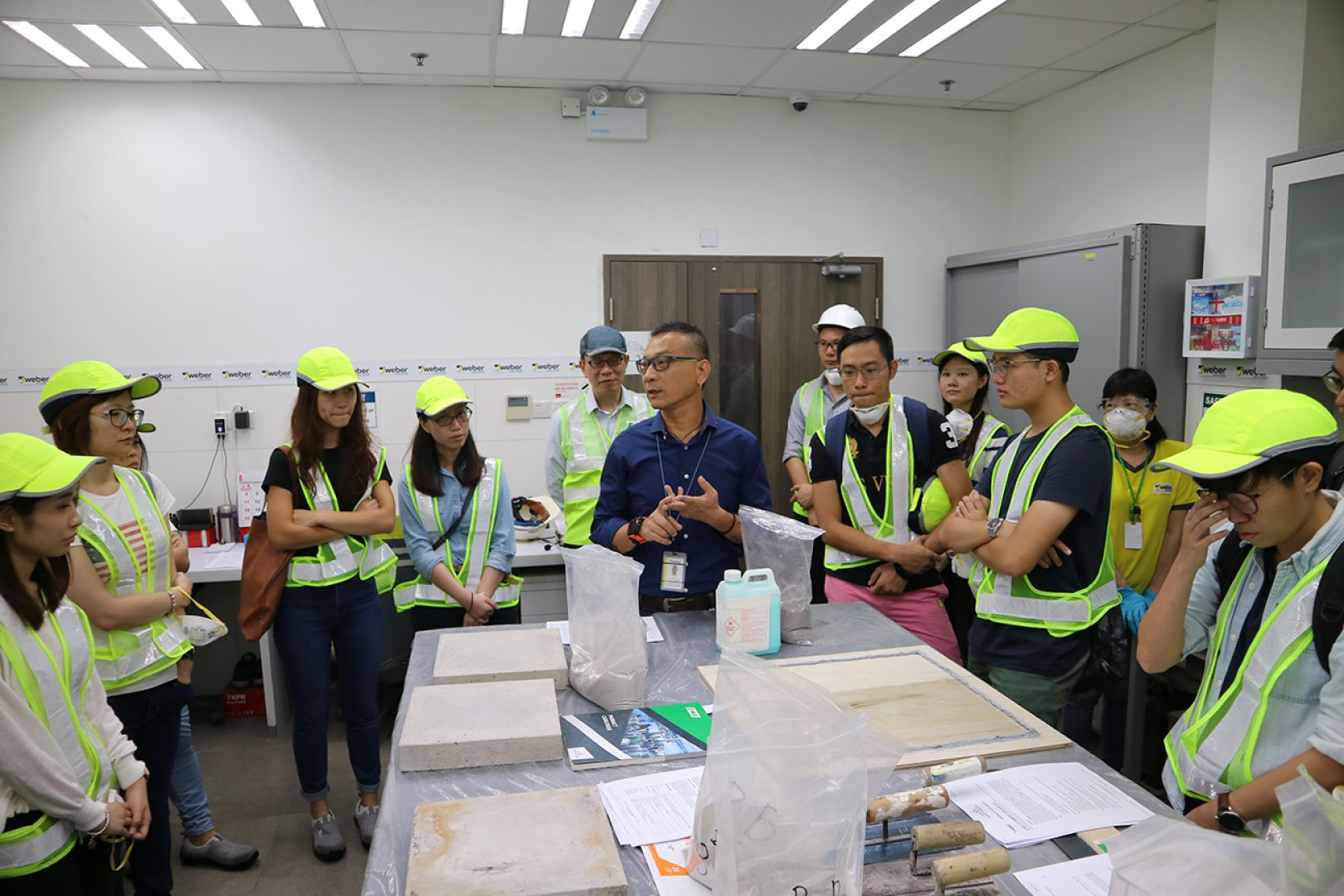 Factory visit and product knowledge sharing with HKIE