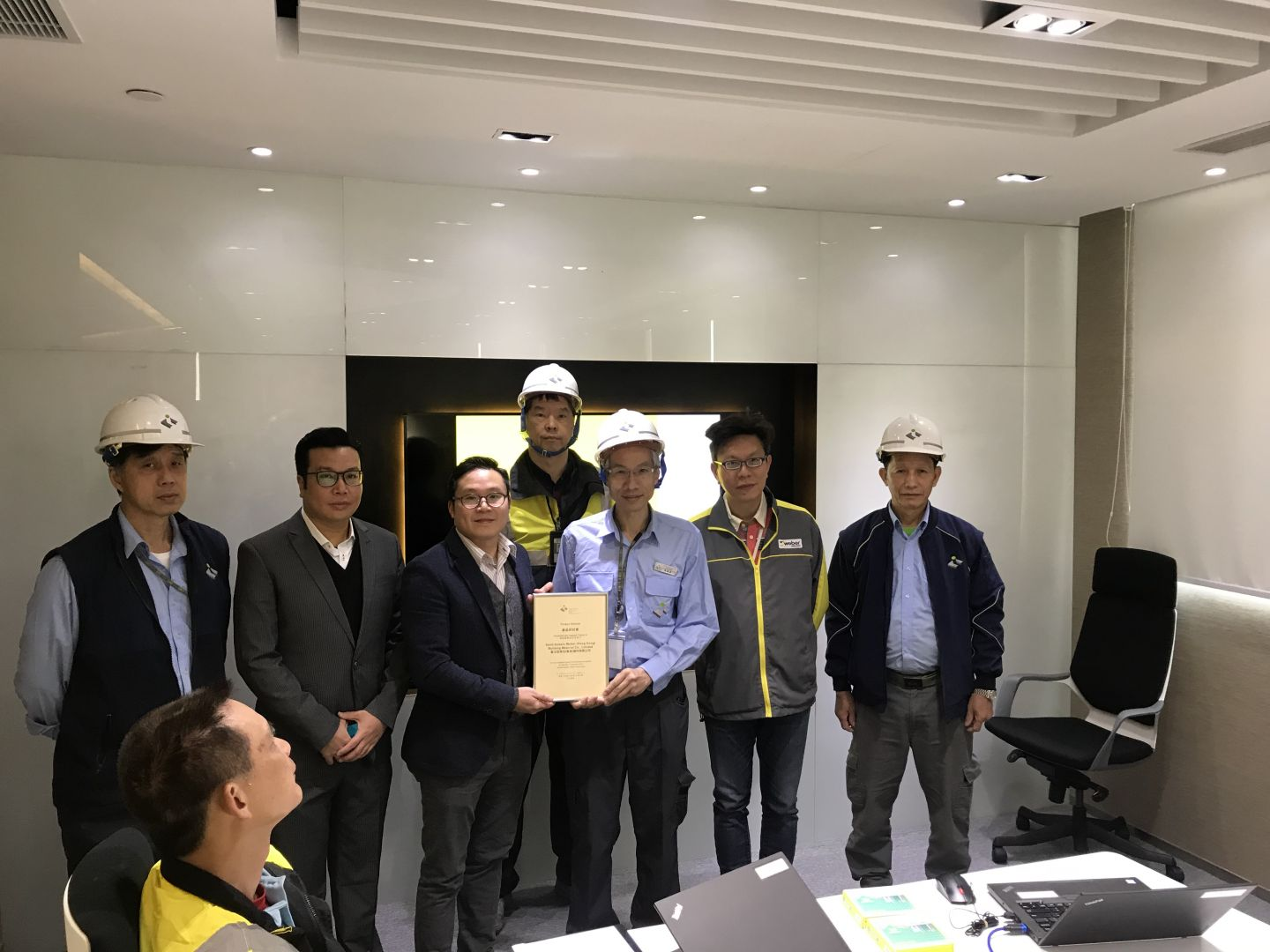 Factory visit - Hong Kong Institute of Construction